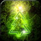 Neon Christmas Live Wallpaper icon