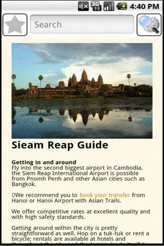 Siem Reap Travel Guide- screenshot