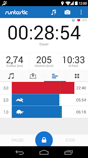 Runtastic PRO Laufen & Fitness - screenshot thumbnail