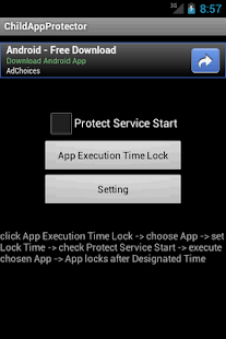 Child App Protector - screenshot thumbnail