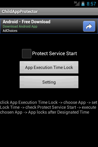 Child App Protector- screenshot