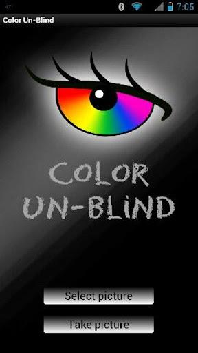 Color Un-Blind colorblind aid