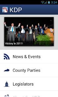 Kentucky Democratic Party - screenshot thumbnail
