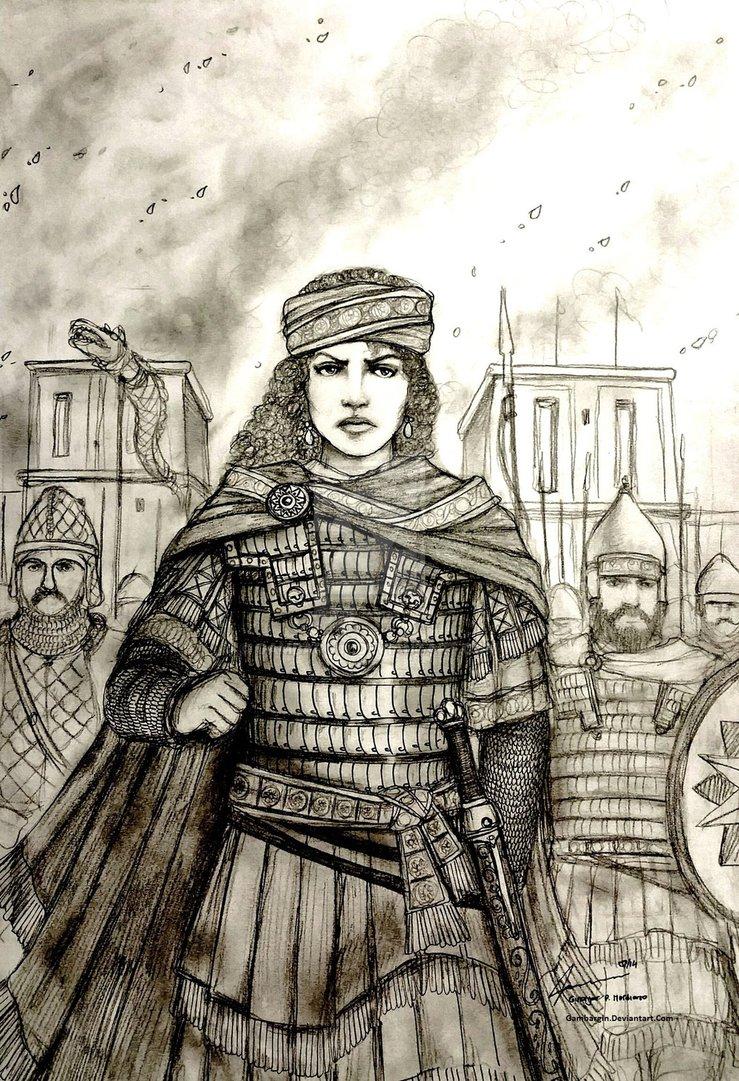 """Savaşçı Kraliçe """"Zenobia"""""""