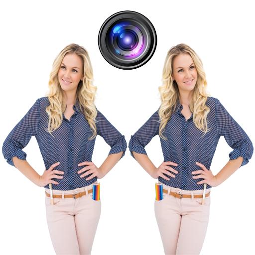 雙攝像頭圖片 攝影 LOGO-阿達玩APP