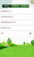 Screenshot of MathemaKids