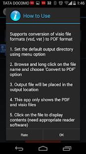 玩免費商業APP|下載Visio to PDF Converter app不用錢|硬是要APP