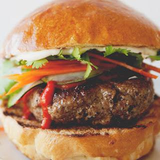 Brisket Bahn Mi Burger Recipe