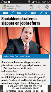 Sweden News - screenshot thumbnail