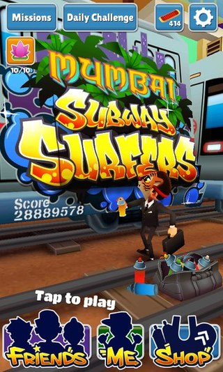 Subway Surfers Mumbai: Cheats - screenshot