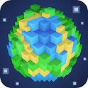 Planet of Cubes - Blocks Craft icon