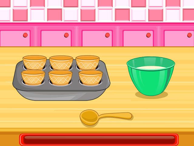android Cooking Ice Cream Cone Cupcake Screenshot 3