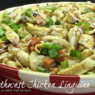 Southwest Chicken Linguine