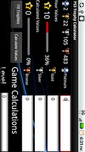 PS3 Trophy Calculator - screenshot thumbnail