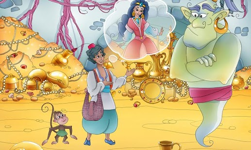 Aladdin & The Magic Lamp Book - screenshot thumbnail