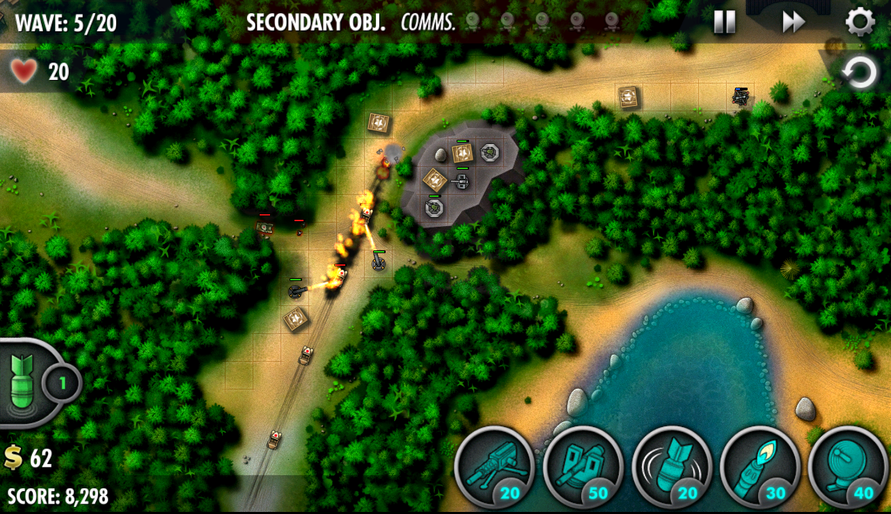 iBomber Defense Pacific - screenshot