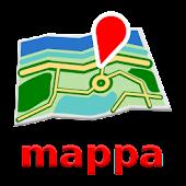 Dublin Offline mappa Map