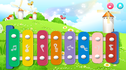Baby Xylophone Musical Game Screenshot