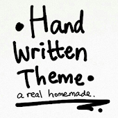 Handwritten Theme GO Launcher