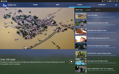 The Weather Channel Screenshot 20