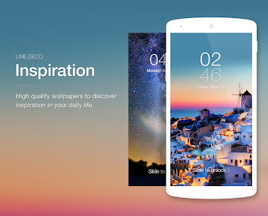 Wallpapers, Icons - LINE DECO - screenshot thumbnail