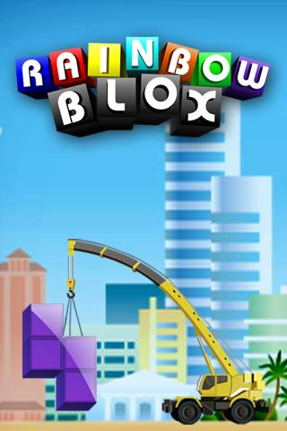 Rainbow blox - screenshot