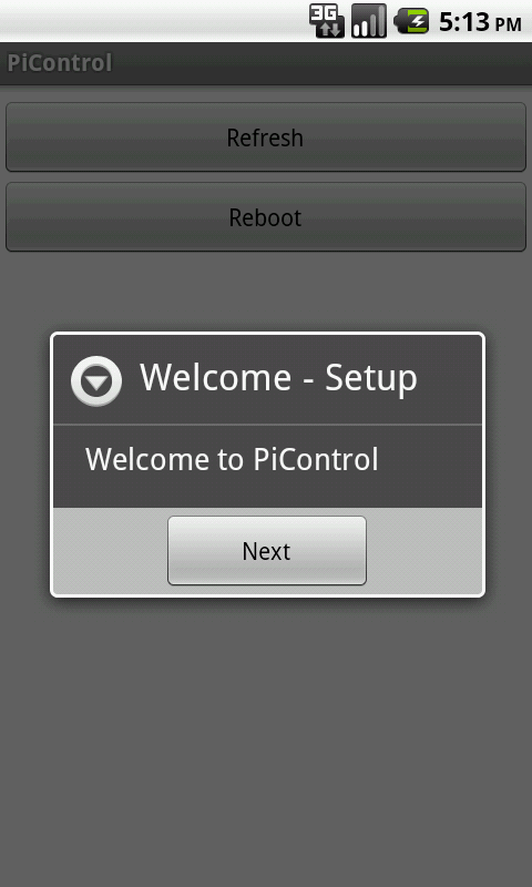 PiControl- screenshot
