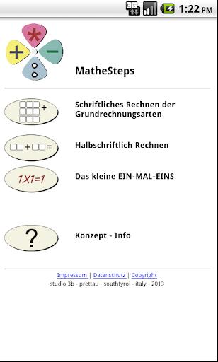MatheSteps-DEMO