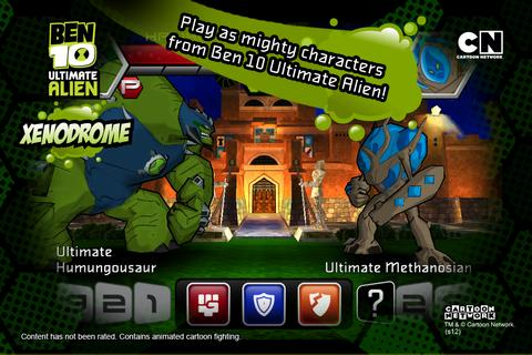Ben 10 Xenodrome  screenshots 2