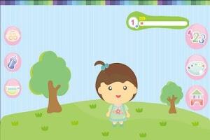 Screenshot of Baby care