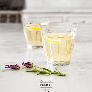 Lavender French 75.
