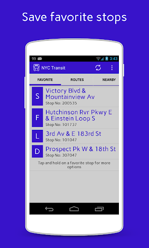NYC Transit App