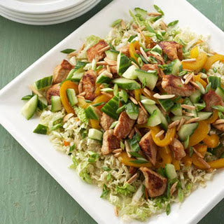 Asian Pork and Cabbage Salad