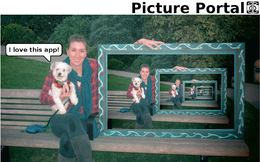 【免費個人化App】Picture Portal Live Wallpaper-APP點子