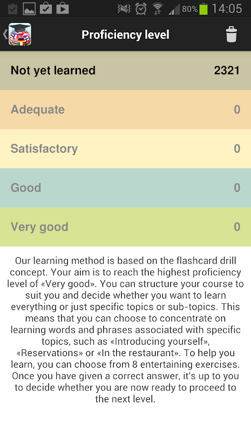 Language Coach- screenshot