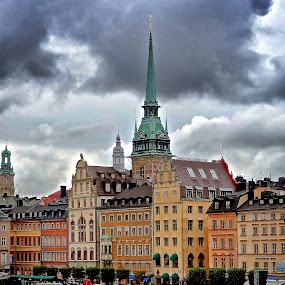 by Jose Figueiredo - City,  Street & Park  Historic Districts ( sweden, old, city, , #GARYFONGDRAMATICLIGHT, #WTFBOBDAVIS )
