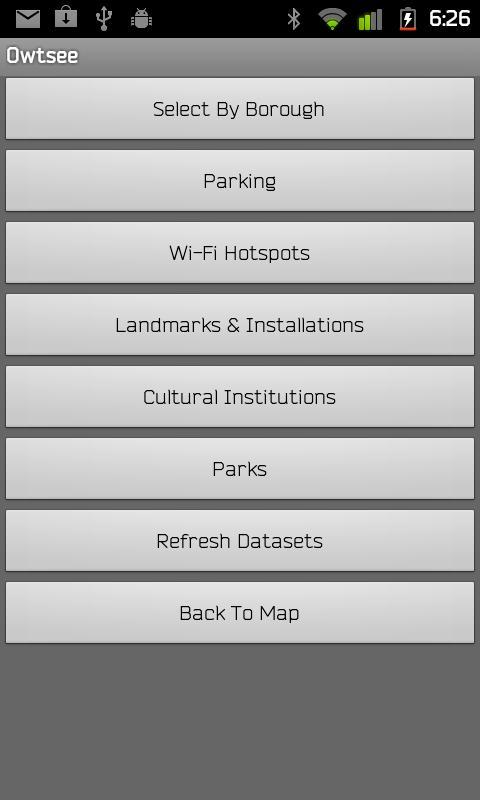 Owtsee- screenshot