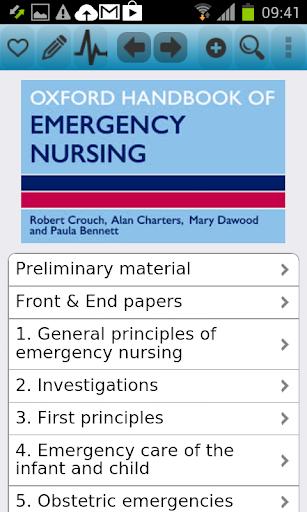 Oxford Handbook Emergency Nurs