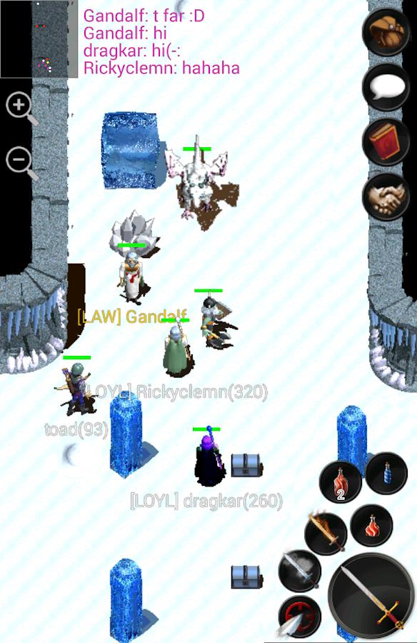 Forgotten Tales Online MMORPG- screenshot