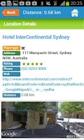 Screenshot of Sydney Guide Hotels Weather