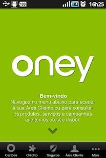 Oney Portugal screenshot