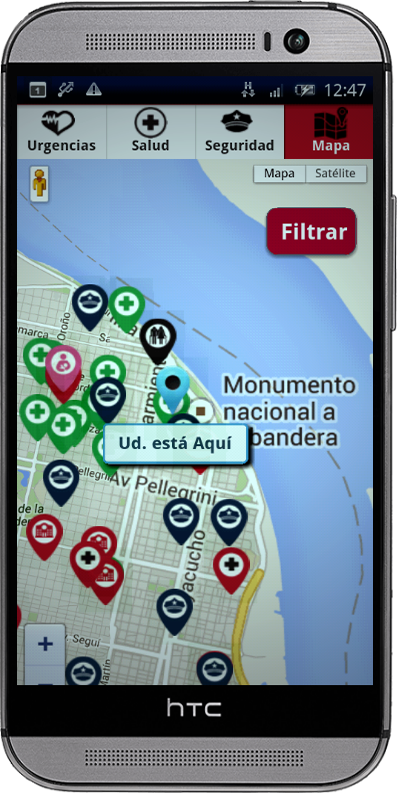 Emergencias Rosario- screenshot