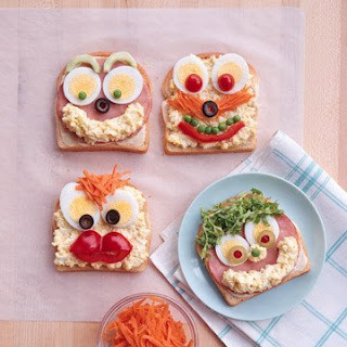 Open Face Sandwiches.