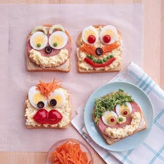 Open Face Sandwiches.