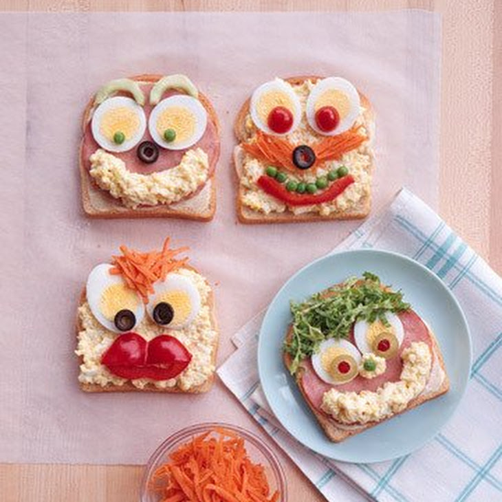 Open Face Sandwiches Recipe