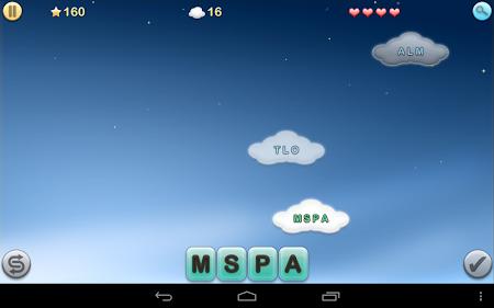 Jumbline 2 - word game puzzle 1.9.9 screenshot 8146