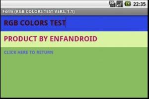 Screenshot of COLORS RGB HEX PANTONE  PRO