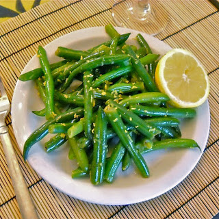 Lemon Butter Green Beans.