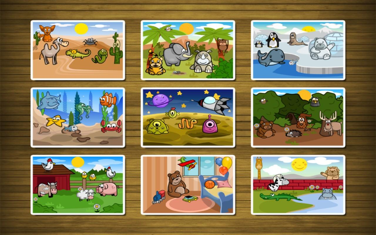 Puzzle for toddlers- screenshot