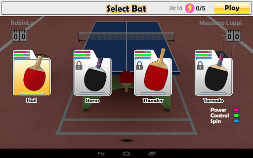 Virtual Table Tennis  screenshots 14
